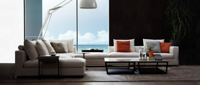 CLOUDS SEAVIEW Corner Sofa from Camerich