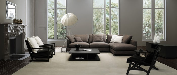 LAZY TIME Corner Sofa from Camerich
