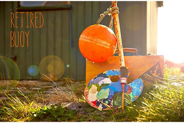 Inspiration for ColourCourage Retired Buoy paint by Lars contzen