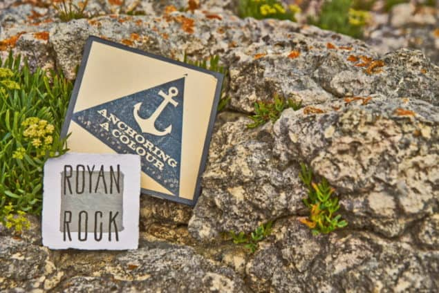 Inspiration for ColourCourage ROYAN ROCK Grey paint by Lars Contzen