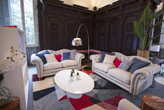 Britannia Sofas by DFS at the headquarters of Team GB at the Rio 2016 Olympic Games
