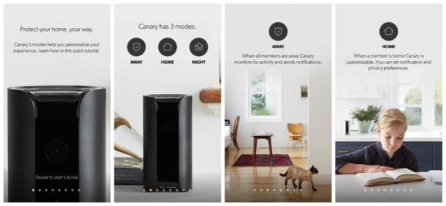 Canary all-in-one security system set up process