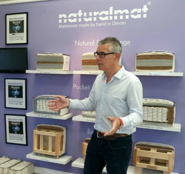 Mark Tremlett founder and CEO of Naturalmat