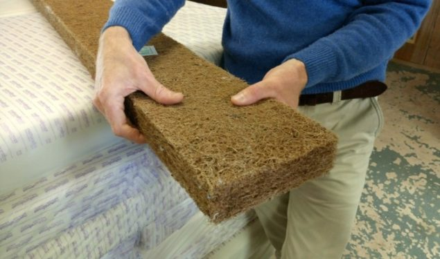 Organic Coir as used by Naturalmat in their mattresses