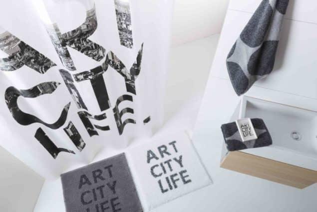 Sorema Art City Life Bathroom Textiles