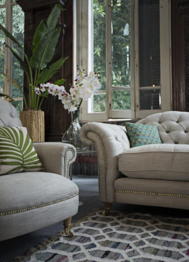 The Britannia Accent Chair & Sofa by DFS the official homeware partner for Team GB at Rio 2016