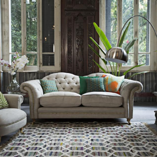 The Britannia Sofa by DFS the official homeware partner for Team GB at Rio 2016