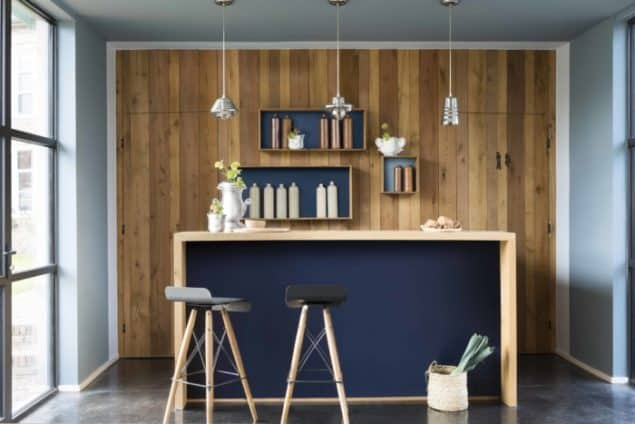 Dulux Colour Futures 17 - Colour Of The Year - Bar - Denim Drift, Borrowed Blue, Cobalt Night, Earl Blue, Indigo Shade