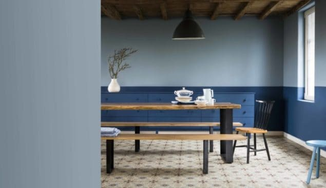 Dulux Colour Futures 17 - Colour of the Year - Dining - Denim Drift, Indigo Shade
