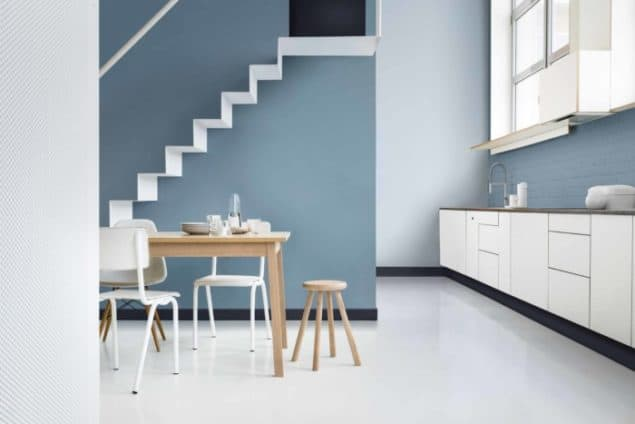 Dulux Colour Futures 17 COTY - Kitchen Dining - Denim Drift, Cobalt Night, Borrowed Blue