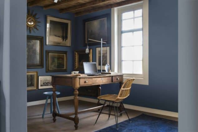 Dulux Colour Futures 17 - Colour of the Year - Study - Indigo Shade, Denim Drift, Clock Face