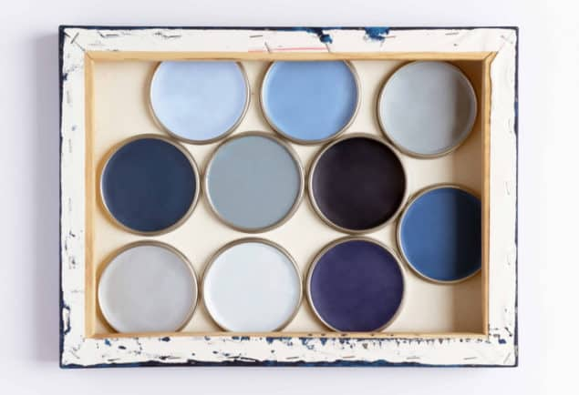 Dulux Colour Futures 17 - Colour of the Year Denim Drift colour palette