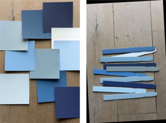 Dulux Colour Futures 17 - Colour of the Year - Denim Drift Colour Palette