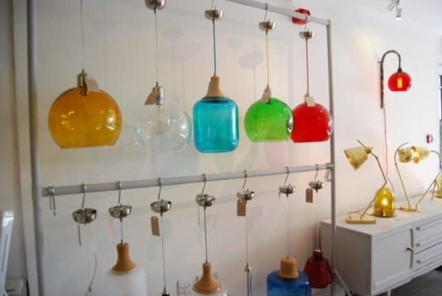 Mushroom Designs Totnes Devon Lighting Showroom