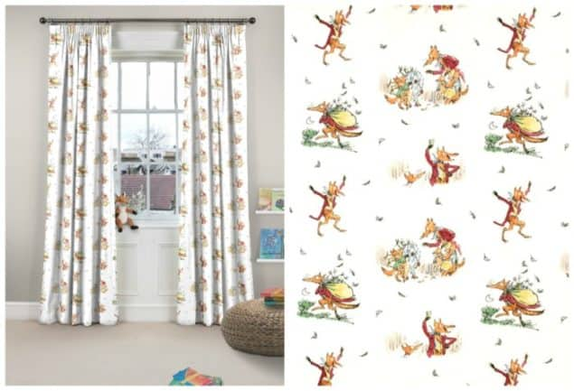 roald dahl fantastic mr fox curtains from curtains.com