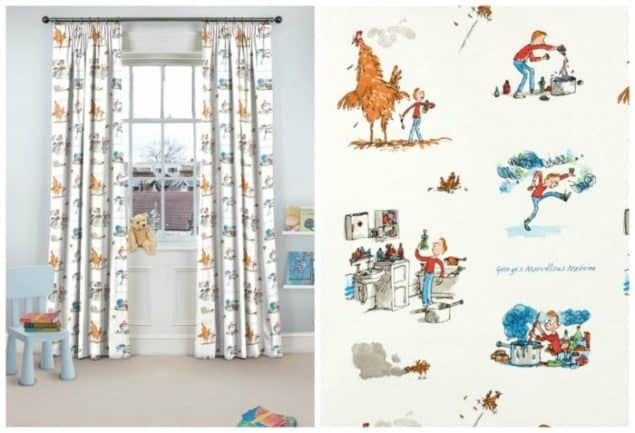 Roald Dahl George Curtains from curtains.com