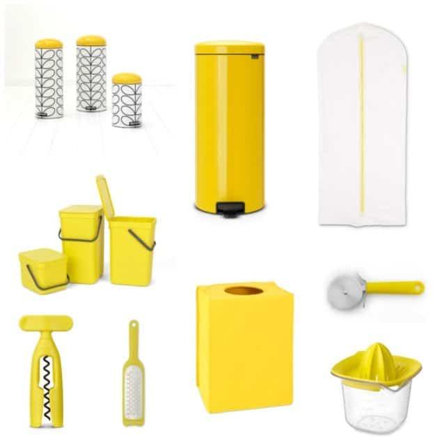 Brabantia Household Items in yellow