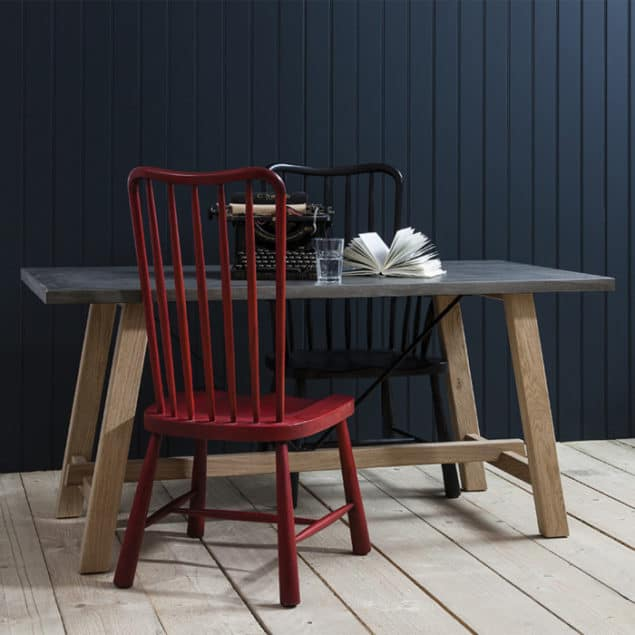 Industrial Chic Reclaimed Wood Tribeca Dining Table from Harley & Lola