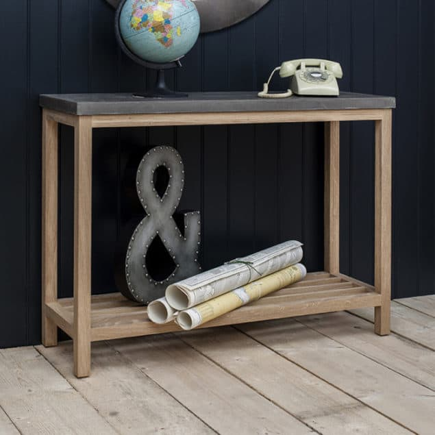Industrial Chic Tribeca Console Table from Harley & Lola