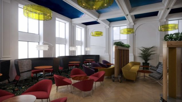 Plummer House Student Accommodation in Newcastle - Common room