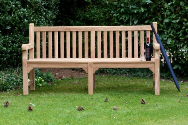 Caring for your garden furniture through winter - Balmoral garden bench from Garden Benches