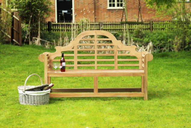 Caring for your garden furniture through the winter - Lutyens garden bench from Garden Benches