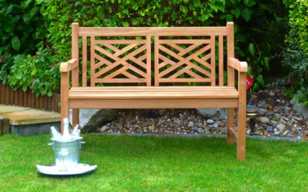 Caring for your garden furniture through the winter - Oxford garden bench from Garden Benches