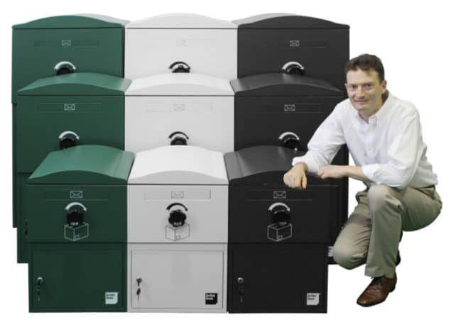 Brian Willcox is the inventor of Brizebox the secure parcel delivery box