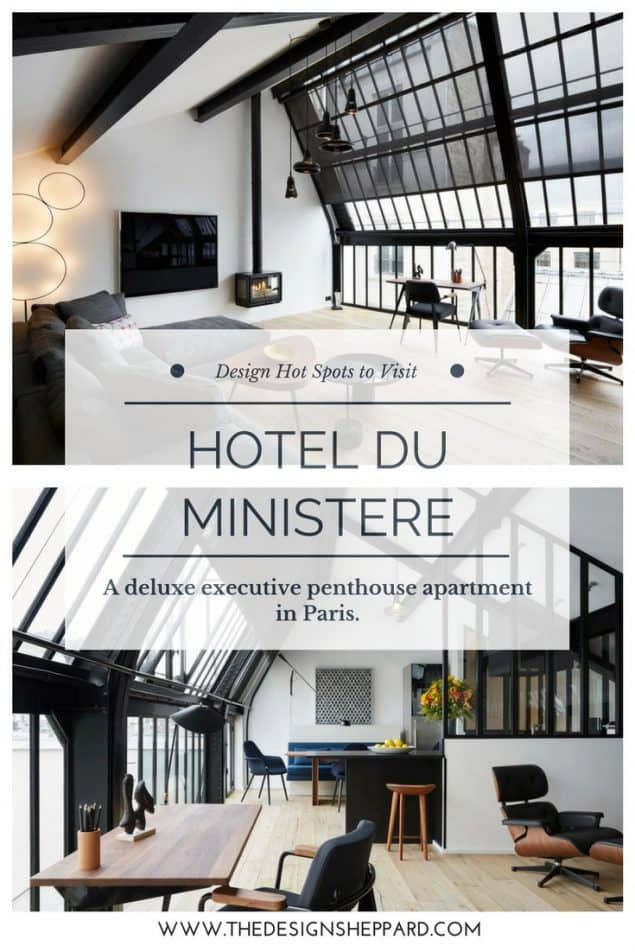 Hotel du Ministere - a delux executive penthouse apartment in Paris