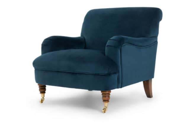 Made About the House Chair Midnight Blue Velvet