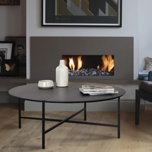 [MannMade London] Battersea collection, Austin Coffee Table, dark grey, £395