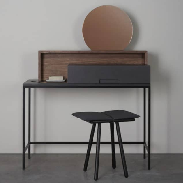 [MannMade London] Battersea collection, Rozel dressing table, dark, £885
