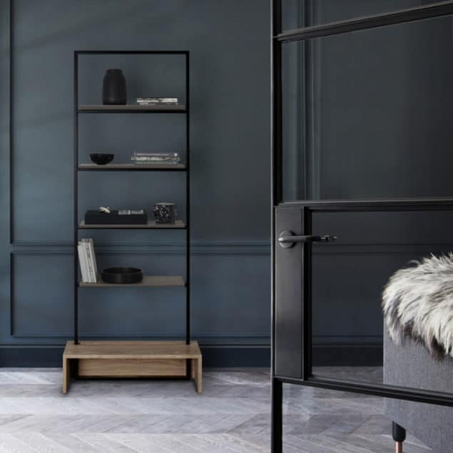 [MannMade London] Battersea collection, lifestyle, Northcote shelves, light, £785