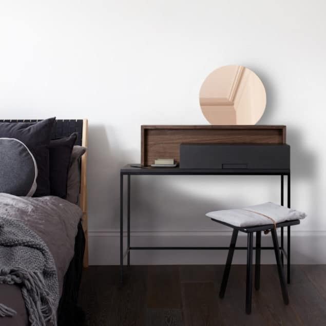 [MannMade London] Battersea collection, lifestyle, Rozel dressing table, dark, £885
