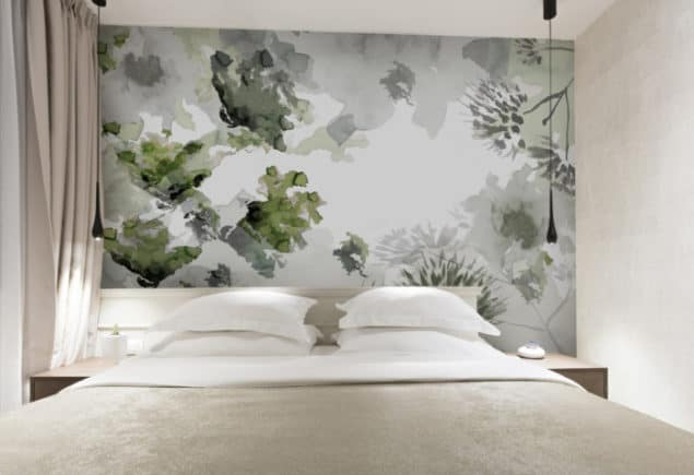Newmore Watercolour wallpaper in Botanical