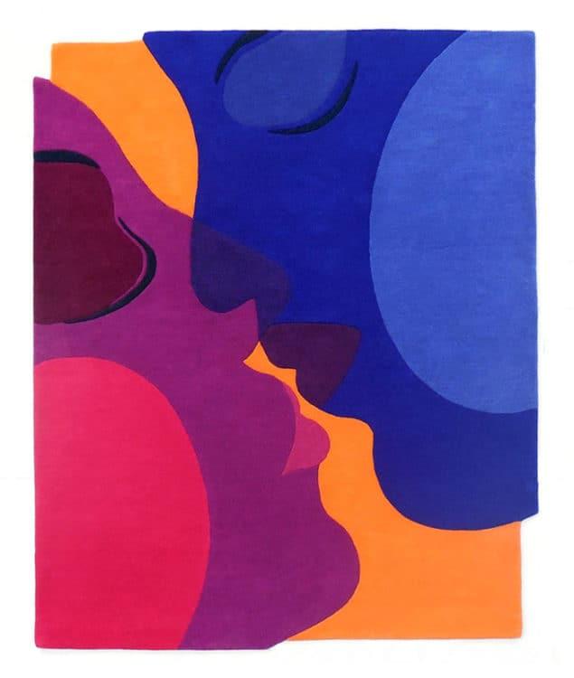 The kiss Orange Rug Sonya Winner cut out HR