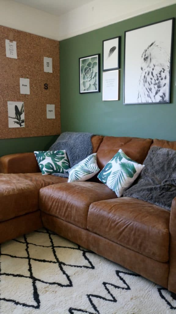 Livingroom makeover dfs caeser sofa desenio prints modern rugs rug 4