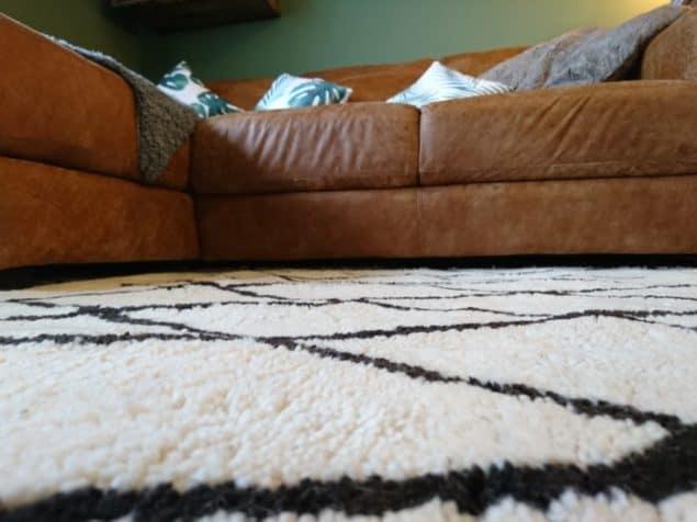 Livingroom makeover dfs caeser sofa modern rugs rug 3