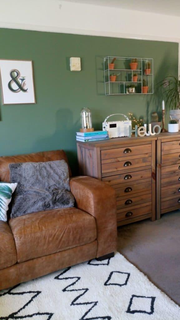 Livingroom makeover dfs caeser sofa modern rugs rug