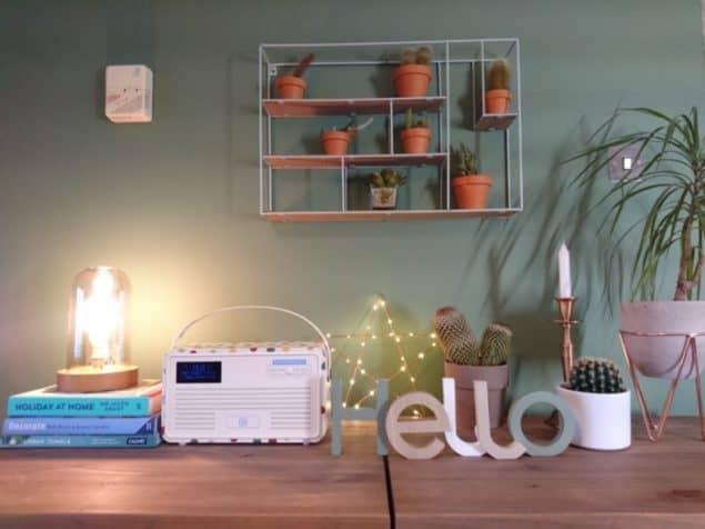 Livingroom makeover sideboard styling 1