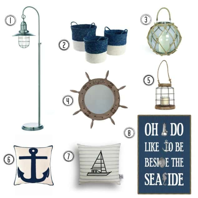 Nautical Interiors trend inspiration
