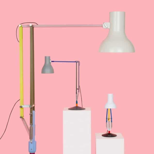 Anglepoise + Paul Smith lamps Edition Three cvollection