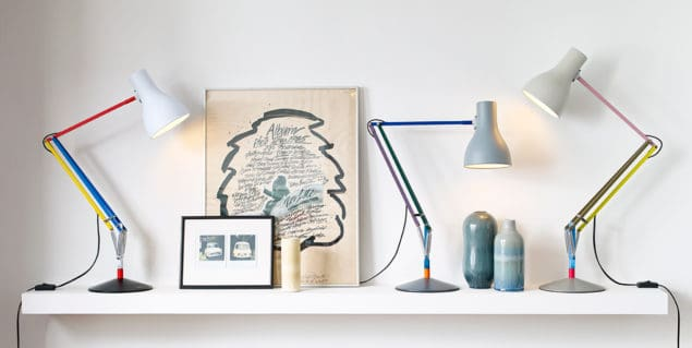 Anglepoise + Paul Smith lamp group