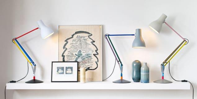 Anglepoise + Paul Smith lamp group