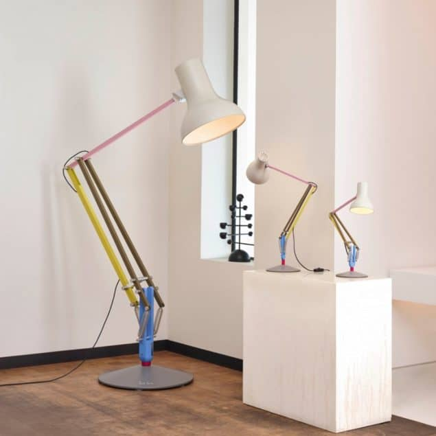 Anglepoise + Paul Smith lamps triple