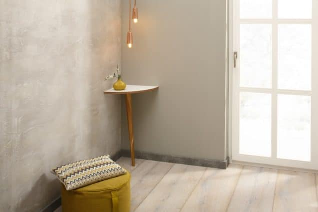 Eckensteher corner table for small spaces designed by Noook