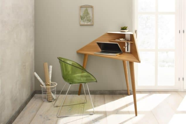 Eckretär corner desk for small spaces designed by Noook
