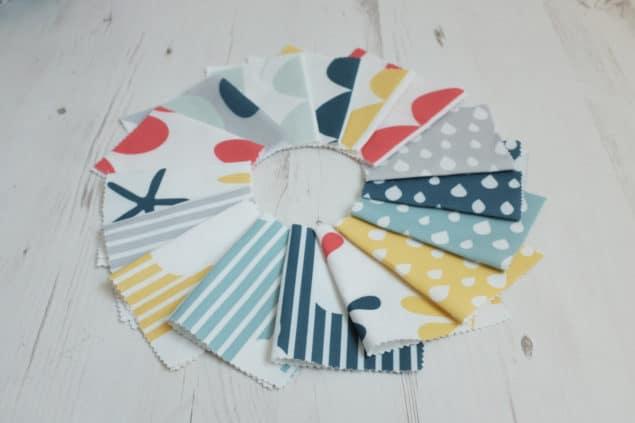 Helen Baker Home fabric samples