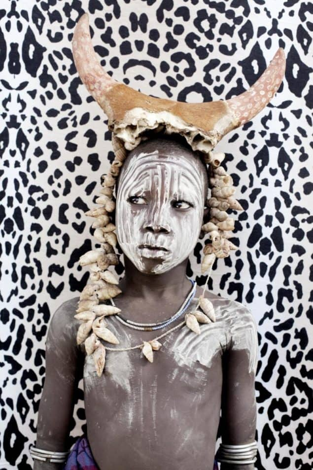 Matilda Temperley - African boy art print from Lumitrix