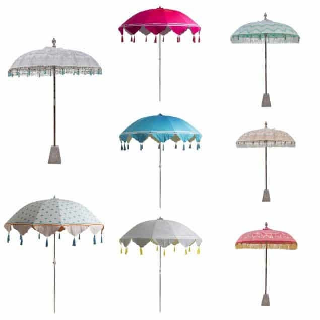 East London flamboyant Parasols